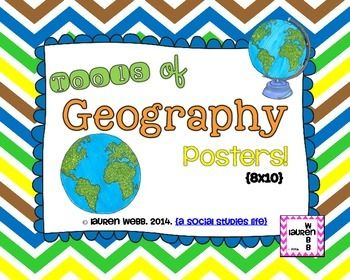 Tools of Geography POSTERS | Geography | Pinterest | Geography and ...