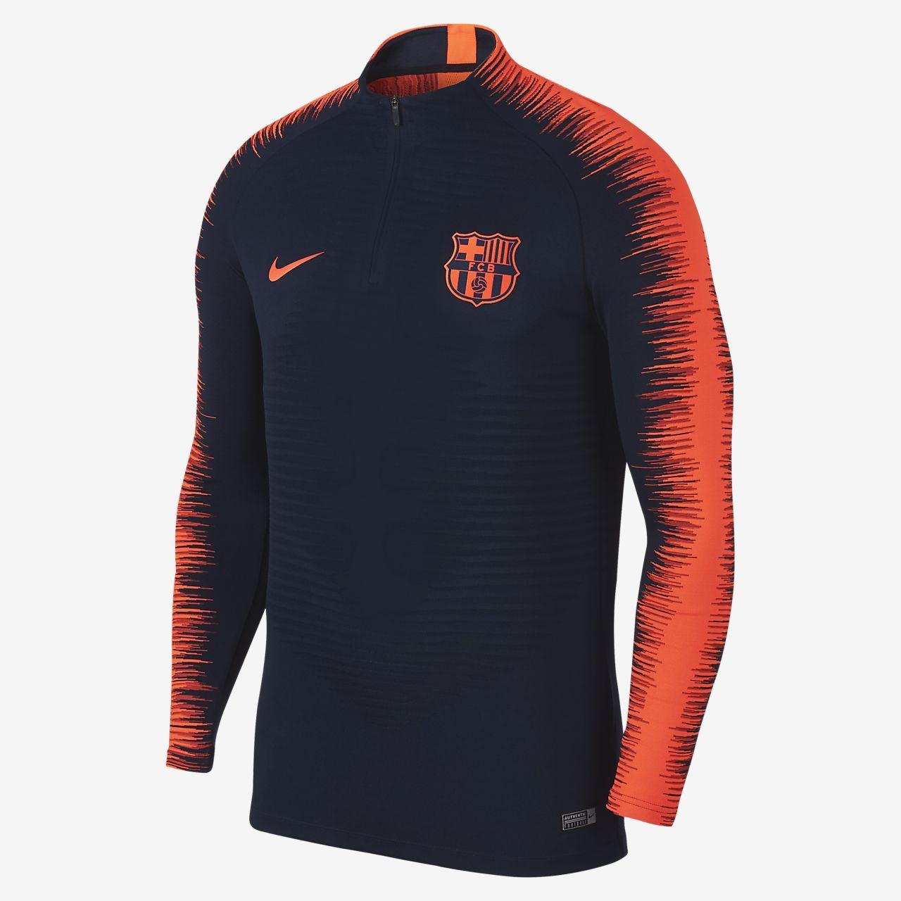 1ad4c2c61e1 FC Barcelona VaporKnit Strike Drill Men s Soccer Top