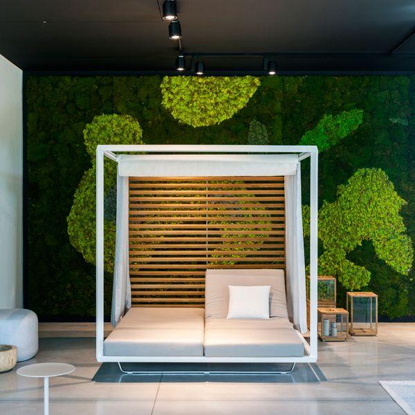 Pavilion Daybed At Tribù HQ Showroom   Designer: Monica Armani