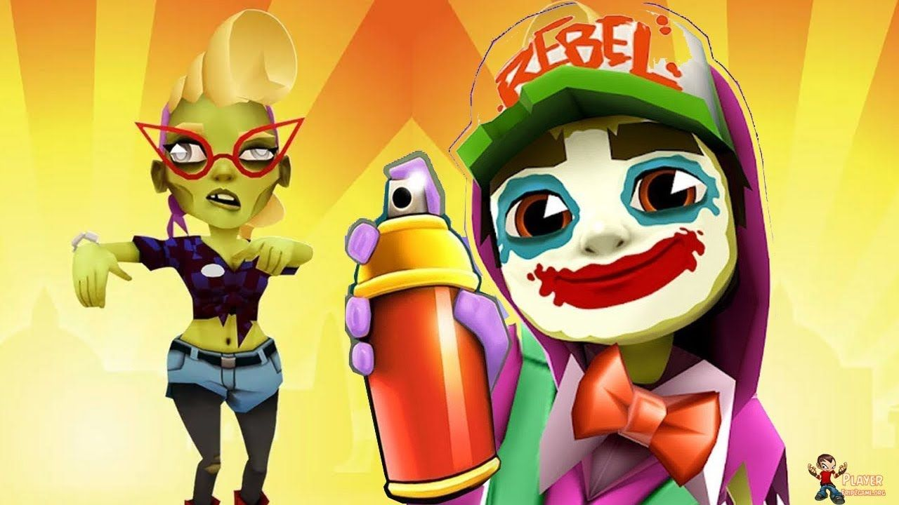 Subway Surfers Halloween 2019 Mexico Zoe Curly Outfit
