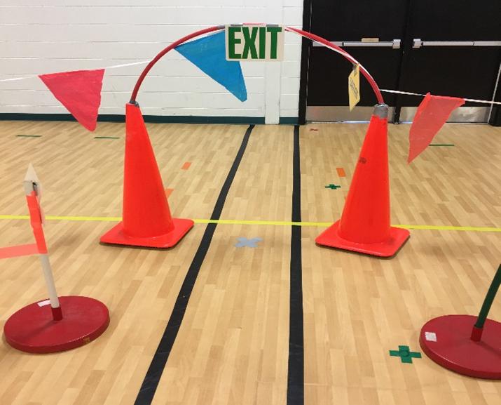 City Activity for Physical Education PE leason