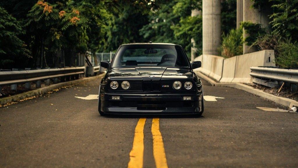 Bmw E30 Black Wallpaper Hd Wallcrisp Bmw E30 Bmw E30 Stance Bmw
