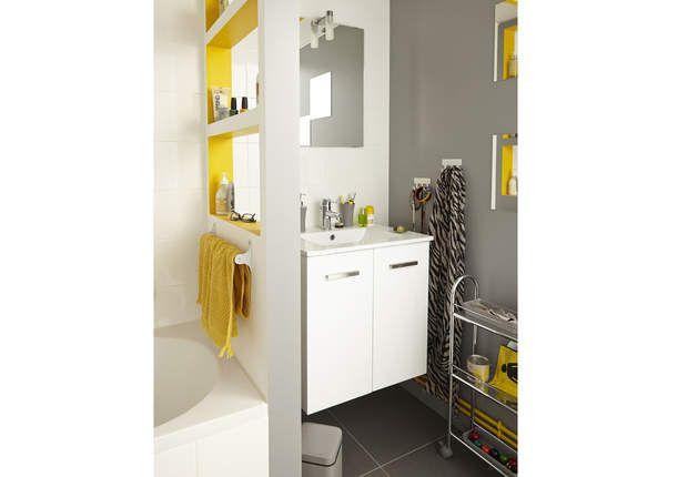 Salle d\'eau design - Petites salles de bain : nos idées déco