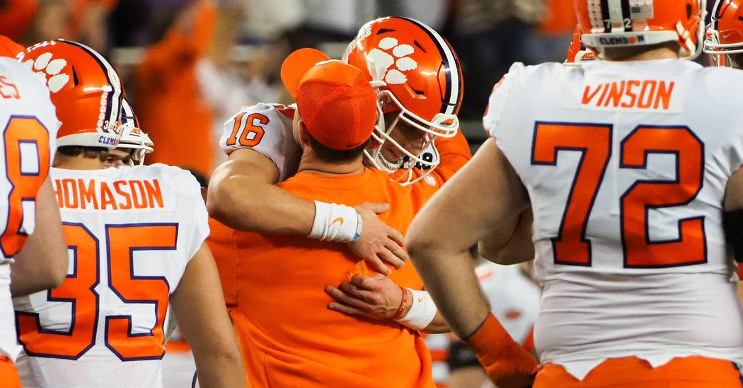 Clemson's Gutsy Call at Quarterback Brings Another