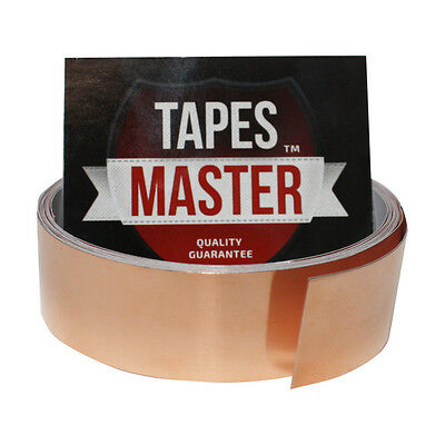 Copper Foil Tape 1 X 10ft Emi Conductive Adhesive Ship From Usa 5 55 Picclick Copper Foil Tape Foil Tape Copper Foil