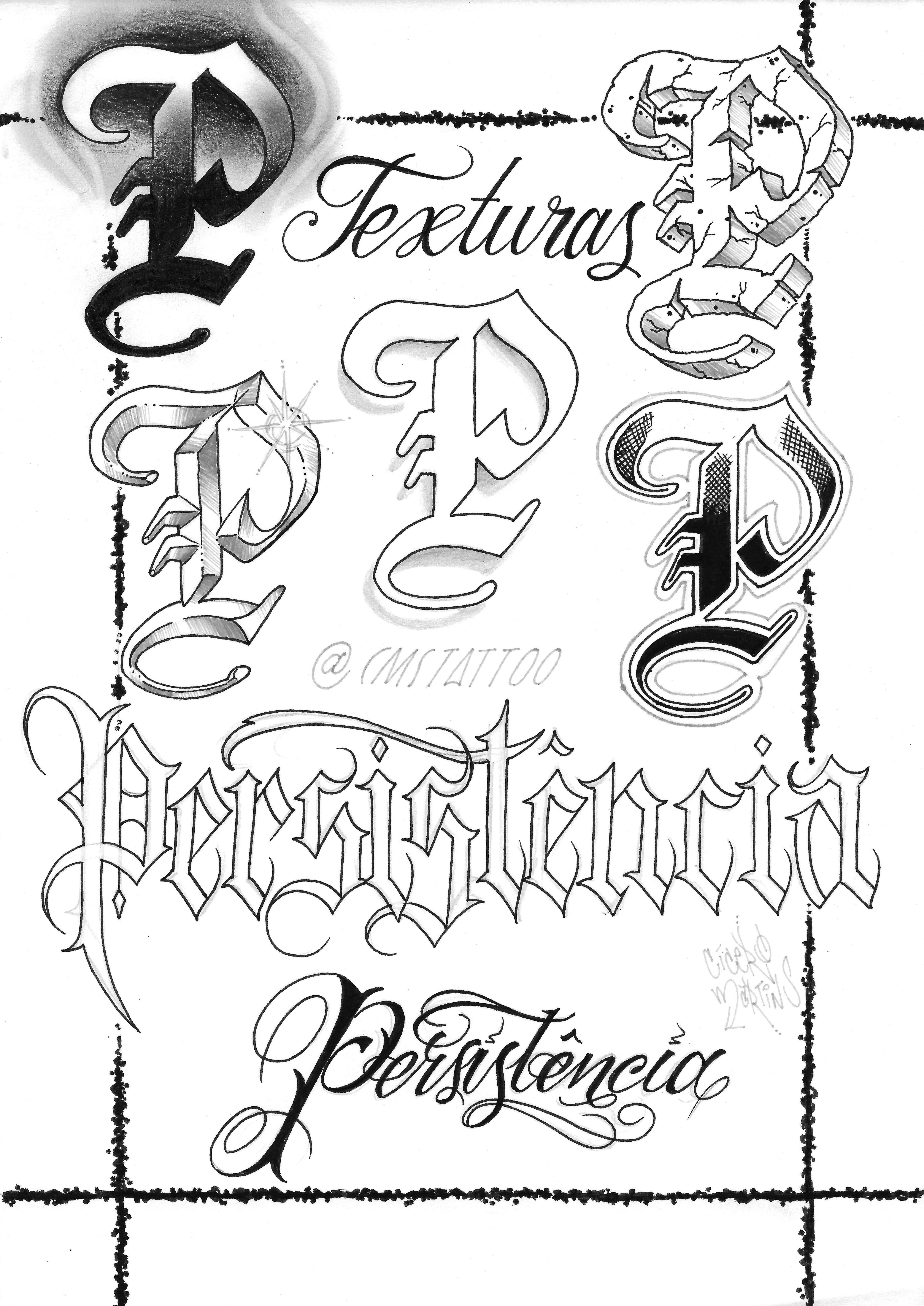 2016 (Serie Sckrita) Letras de grafite, Fontes de