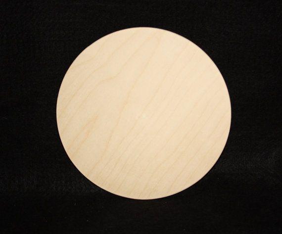 10 Wood Circle Cutout 14 Thickcircle Cutoutunfinished Wood