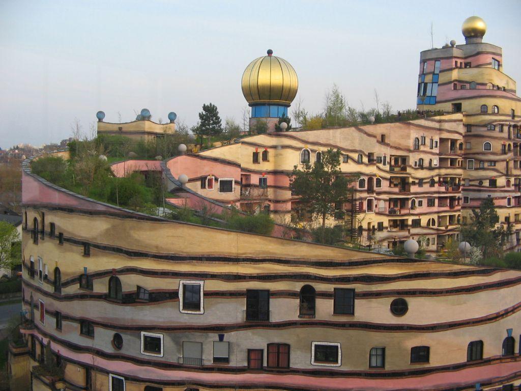 Darmstadt, Germany (Hundertwasser apartment block