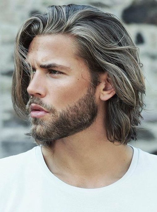 medium hairstyles mens