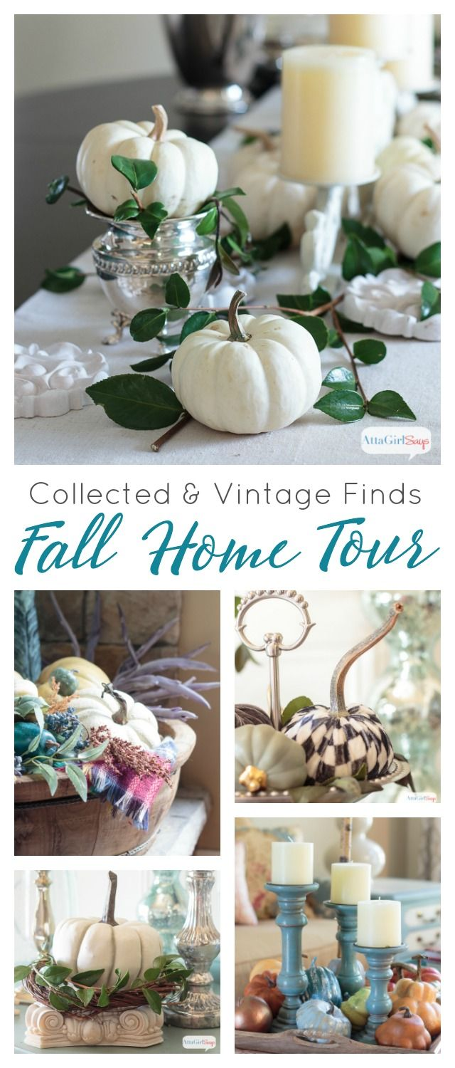 if you re a collector you ll love this gorgeous fall home tour