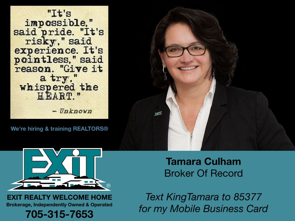 Pin by Tamara Culham on EXIT REALTY HOME