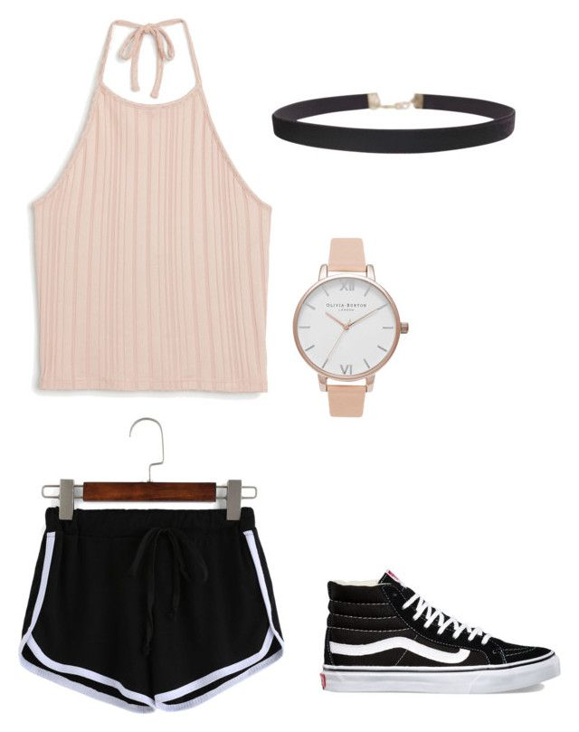 """Untitled #15"" by avakitchen on Polyvore featuring Monki, Humble Chic, Vans and Olivia Burton"