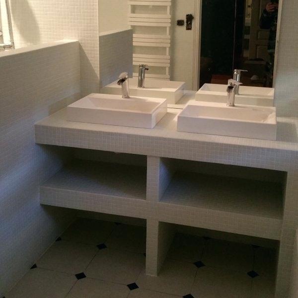 creer meuble salle de bain fabriquer meuble salle de bain wedi ...