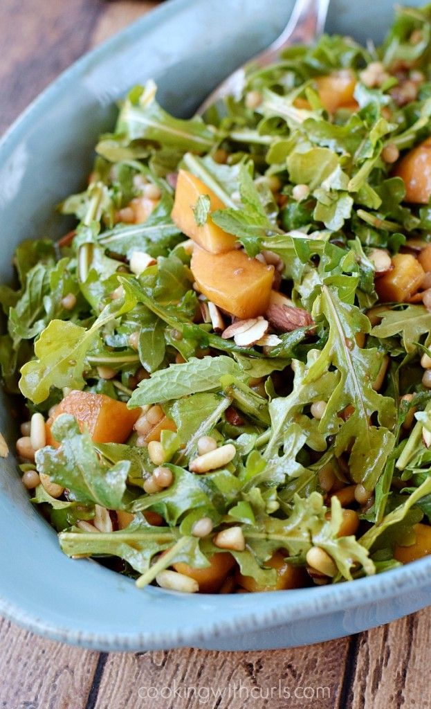 Celebrate summer with this light and refreshing Couscous Salad with Peaches and Arugula.