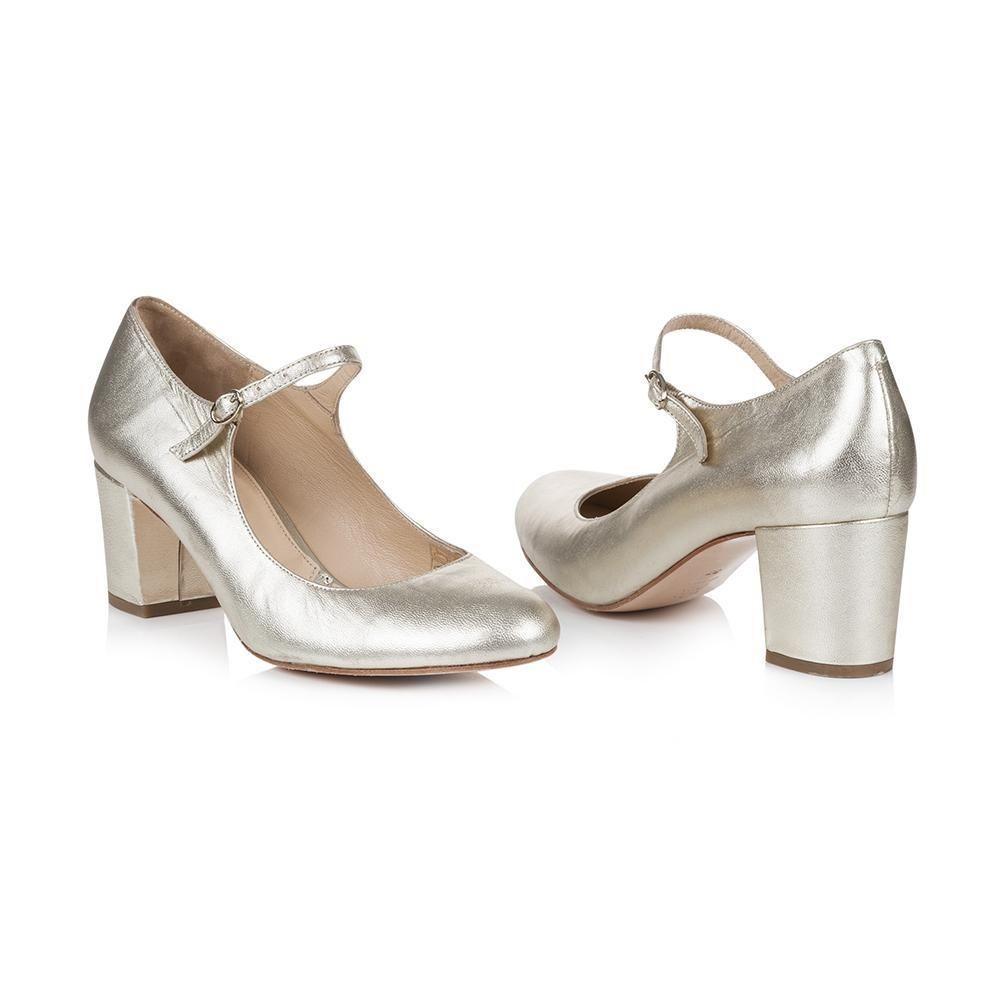 Brautschuhe Gold Mit Blockabsatz Brautschuhe Chloe Schuhe Blockabsatz Schuhe