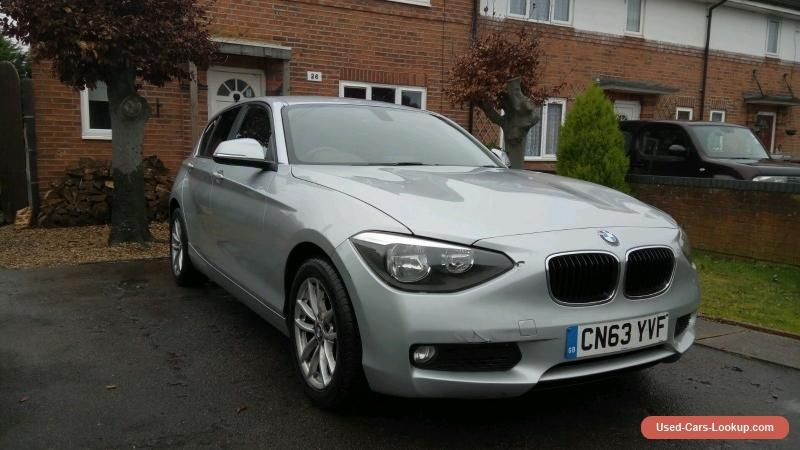 Bmw 1 Series Spares Repair 2013 F20 116d Efficient Dynamics