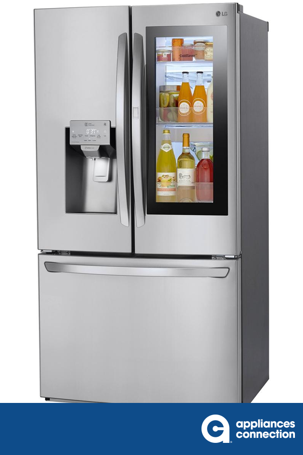 This 36 Smart French Door Refrigerator By Lg Comes With 27 5 Cu