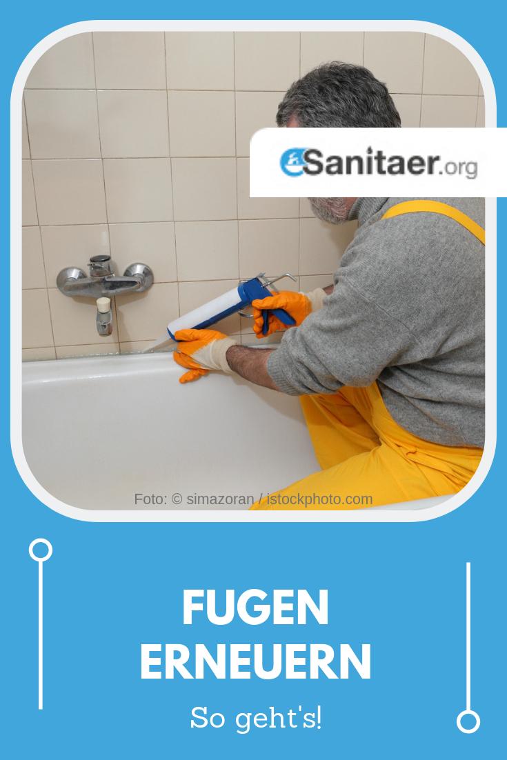 Schritt für Schritt Fugen erneuern ✓ DIY Anleitung ...
