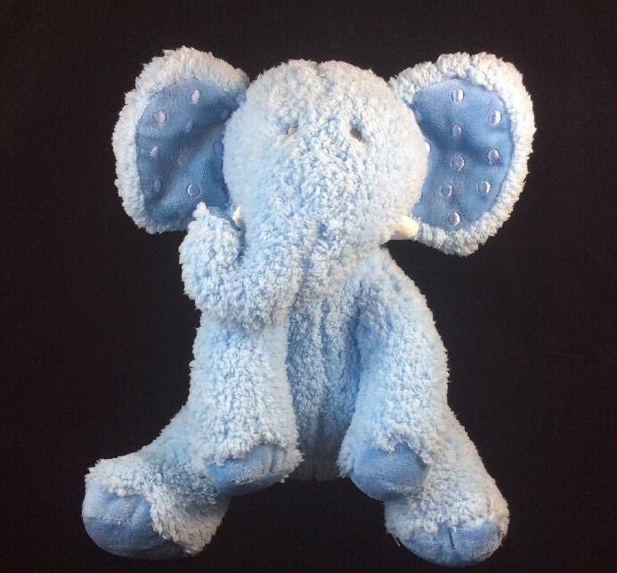 Hallmark Dewberry Blue Sherpa Elephant Plush Soft Toy Stuffed Animal 10 Hallmark Elephant Stuffed Animal Animals Pet Toys