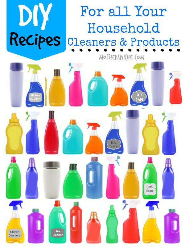diy household cleaners products produits d 39 entretien auto maison. Black Bedroom Furniture Sets. Home Design Ideas
