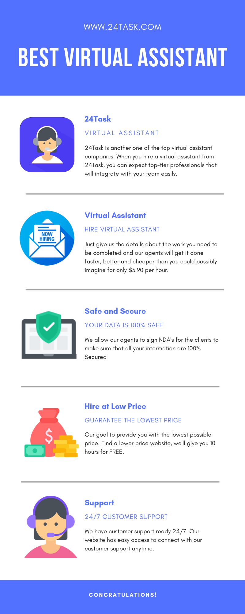 Freelance Jobs Online For Beginners Affordable Virtual Assistant At 24 Task Virtual Assistant Virtual Assistant Services Freelancing Jobs