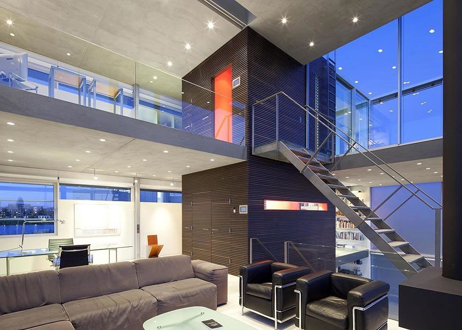 Beautiful Houses: Rieteiland House In Amsterdam Modern Contemporary  Interior Design Inspiration