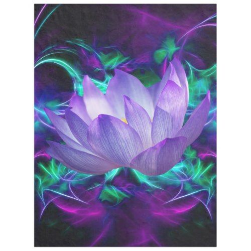 Purple lotus flower and its meaning fleece blanket summer purple lotus flower and its meaning fleece blanket mightylinksfo Choice Image