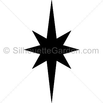 Elongated Star Silhouette Clip Art Download Free Versions Of The Image In Eps Jpg Pdf Png And Svg Formats At Star Silhouette Silhouette Clip Art Star Svg