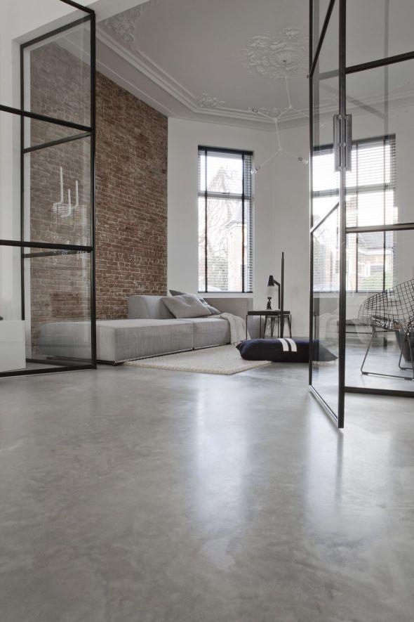 Photo of Gevlinderde betonvloer – Willem Designvloeren