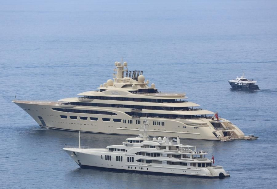The 156m Superyacht Dilbar Recently Confirmed To Be The Largest