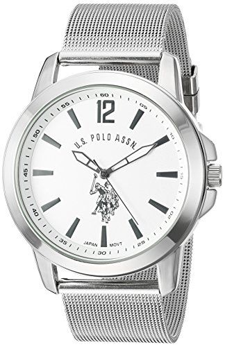 US Polo Assn Classic Mens USC80375 Analog Display Analog Quartz Silver  Watch     Read more at the image link. a7a83f237b1