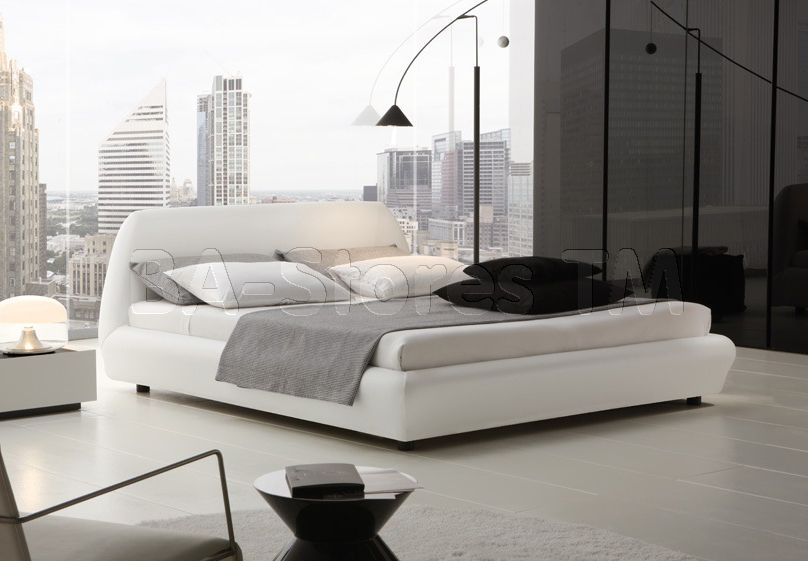 Rossetto USA Downtown Platform Bed By Rossetto Furniture