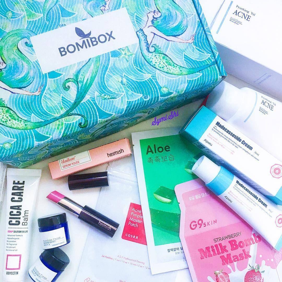 Bomibox Korean Beauty Box Korean Beauty Skincare Subscription Box Beauty Box