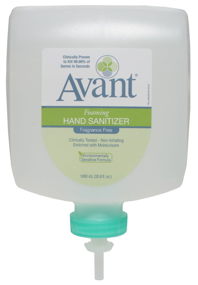 Pin On Avant Foaming Fragrance Free Instant Hand Sanitizer