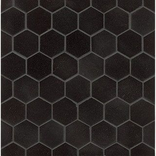 Shop For Absolute Black Granite Hexagon Mosaic Polished Box Of 10