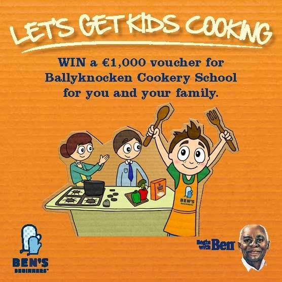 Win a €1,000 voucher for Ballyknocken Cookery School for you and your family - http://www.competitions.ie/competition/win-e1000-voucher-ballyknocken-cookery-school-family/