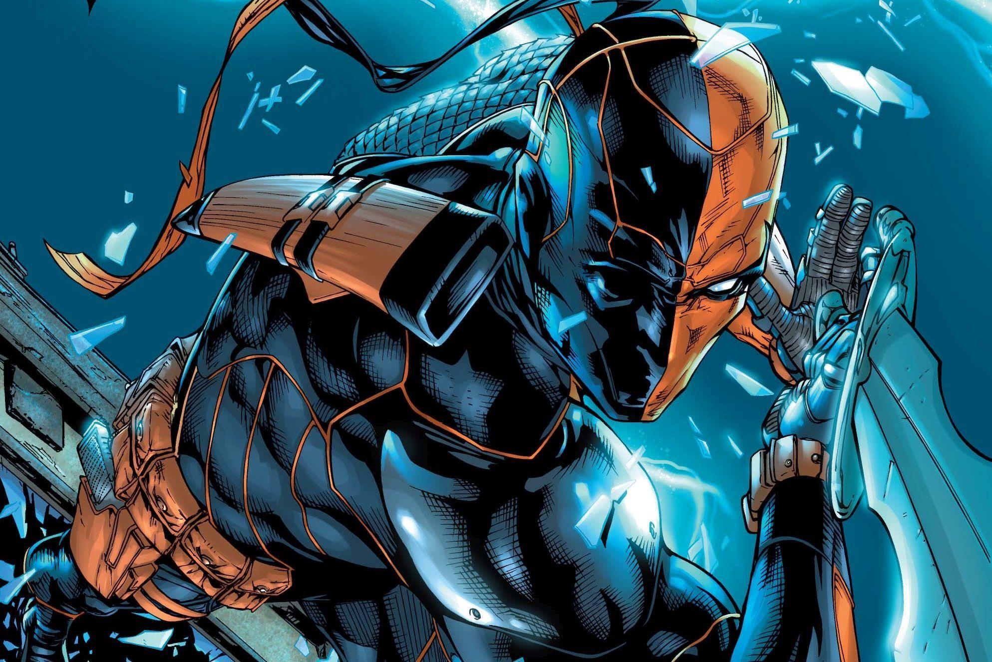 Deathstroke Dc Comics Artwork Hd Superheroes Wallpapers Hd