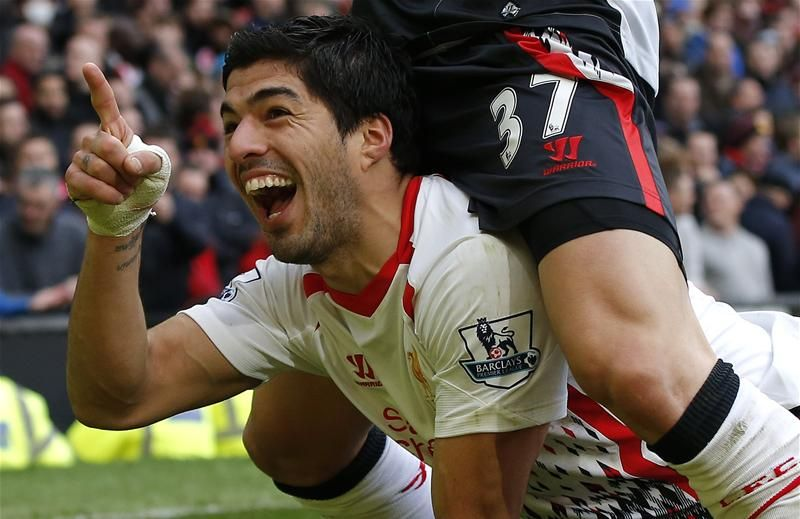 Ridiculous rumour of the day: Man United set to trigger Luis Suarez's reported release clause.