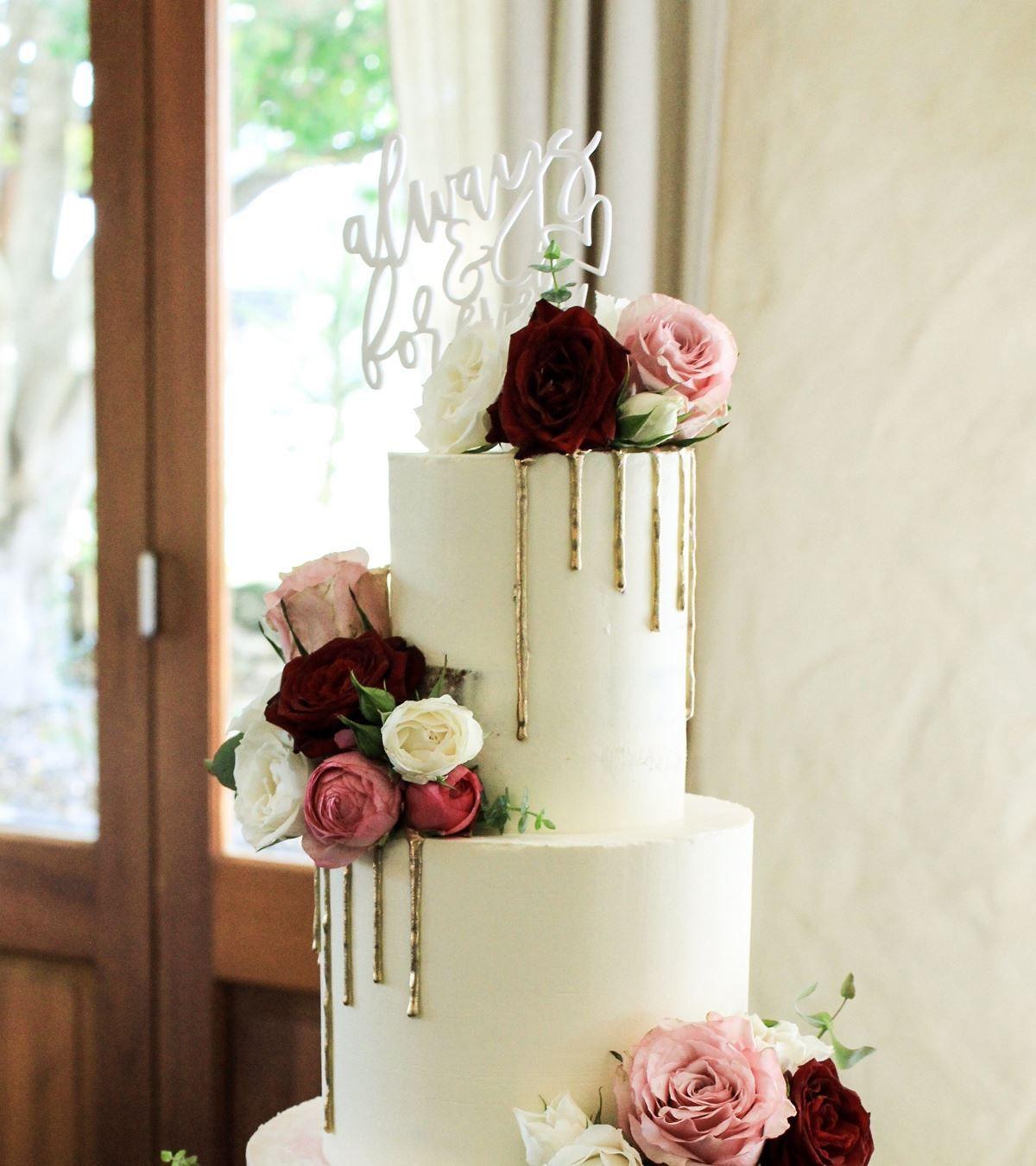 Bridal select cakes wedding cakes perth easy weddings