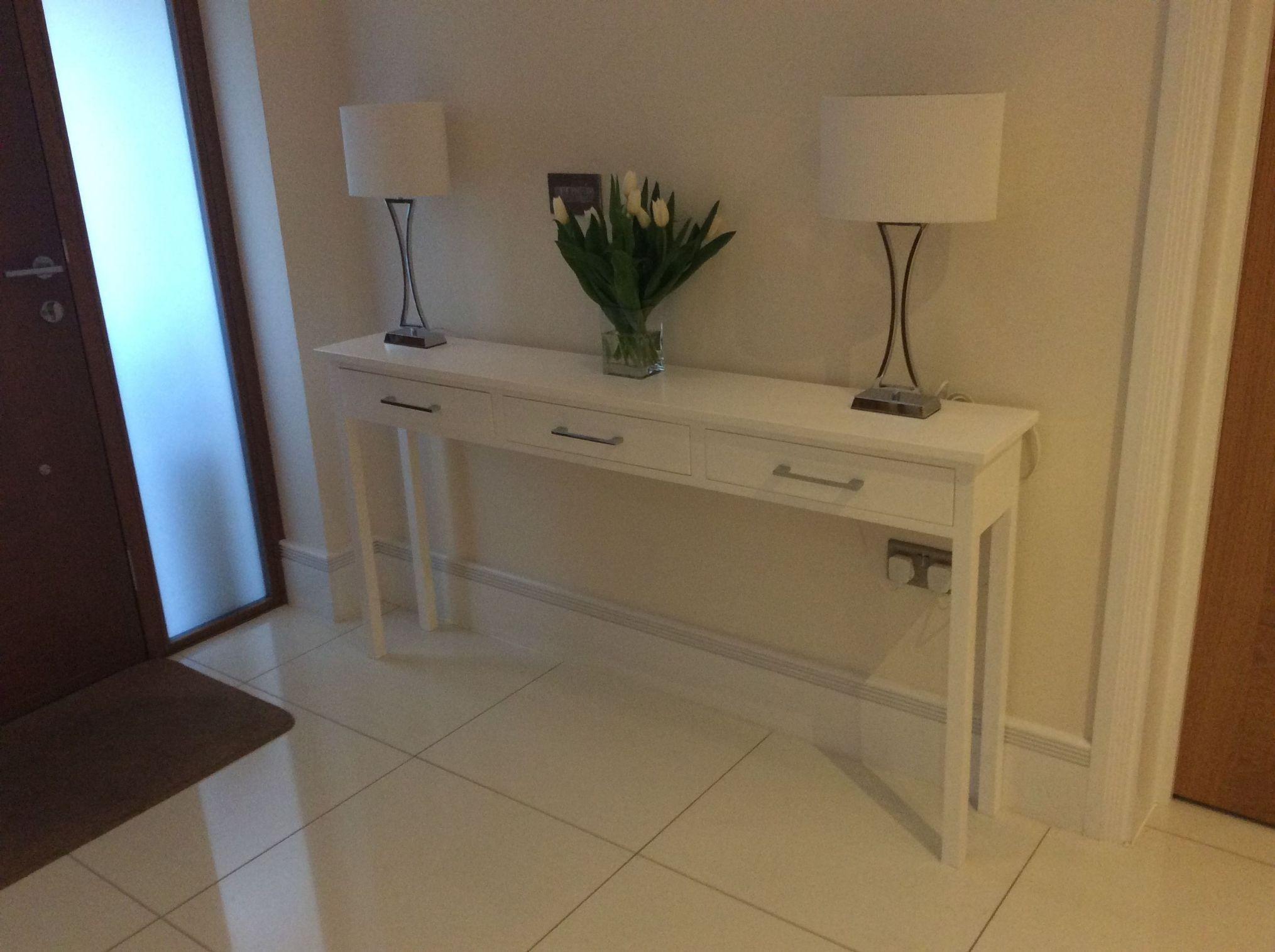 Narrow Console Table Depth 20cm