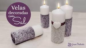 Resultado De Imagen Para Velas Adornadas Con Greca Solo Velas - Decorar-velas-con-servilletas