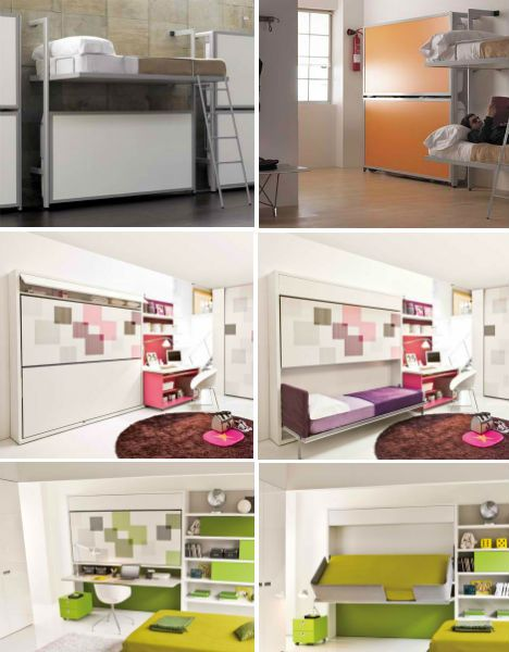 Resource Furniture: Convertible Designs for Small Spaces