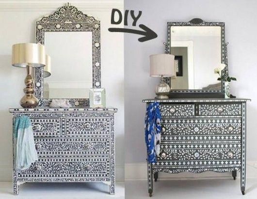 Kiran Embossed Metal Dresser | Emboss, Dresser and Metals