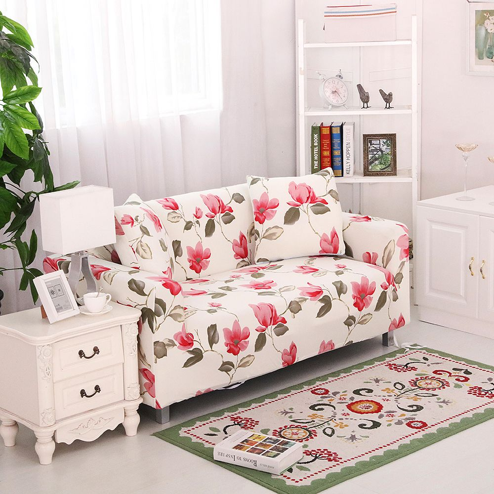 26 49USD Stretch Elastic Sofa Cover Sofa Slipcover Floral Single/two/three/