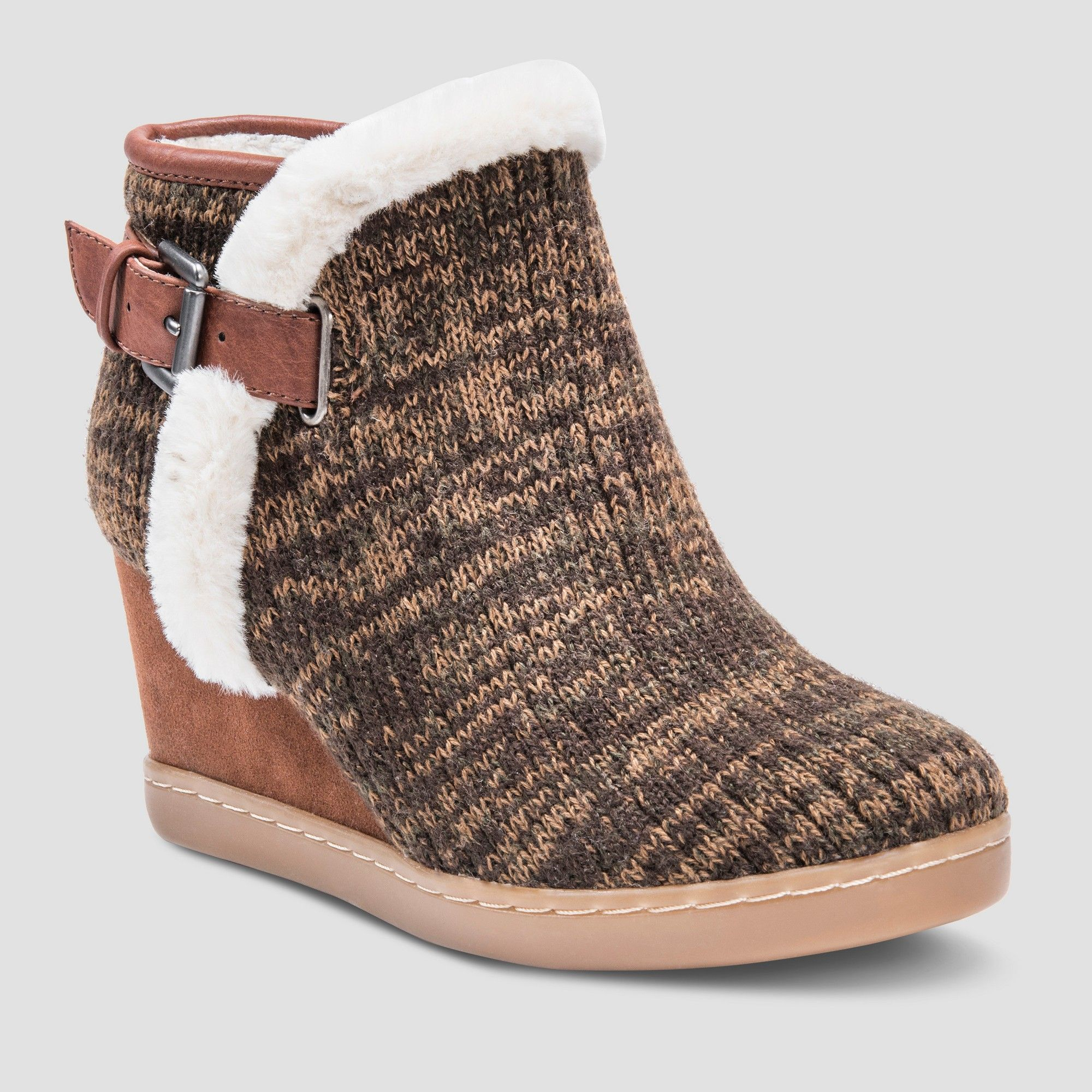 c1fb1669492fe Women s Ann Marie Fashion Boots - Muk Luks Brown 10