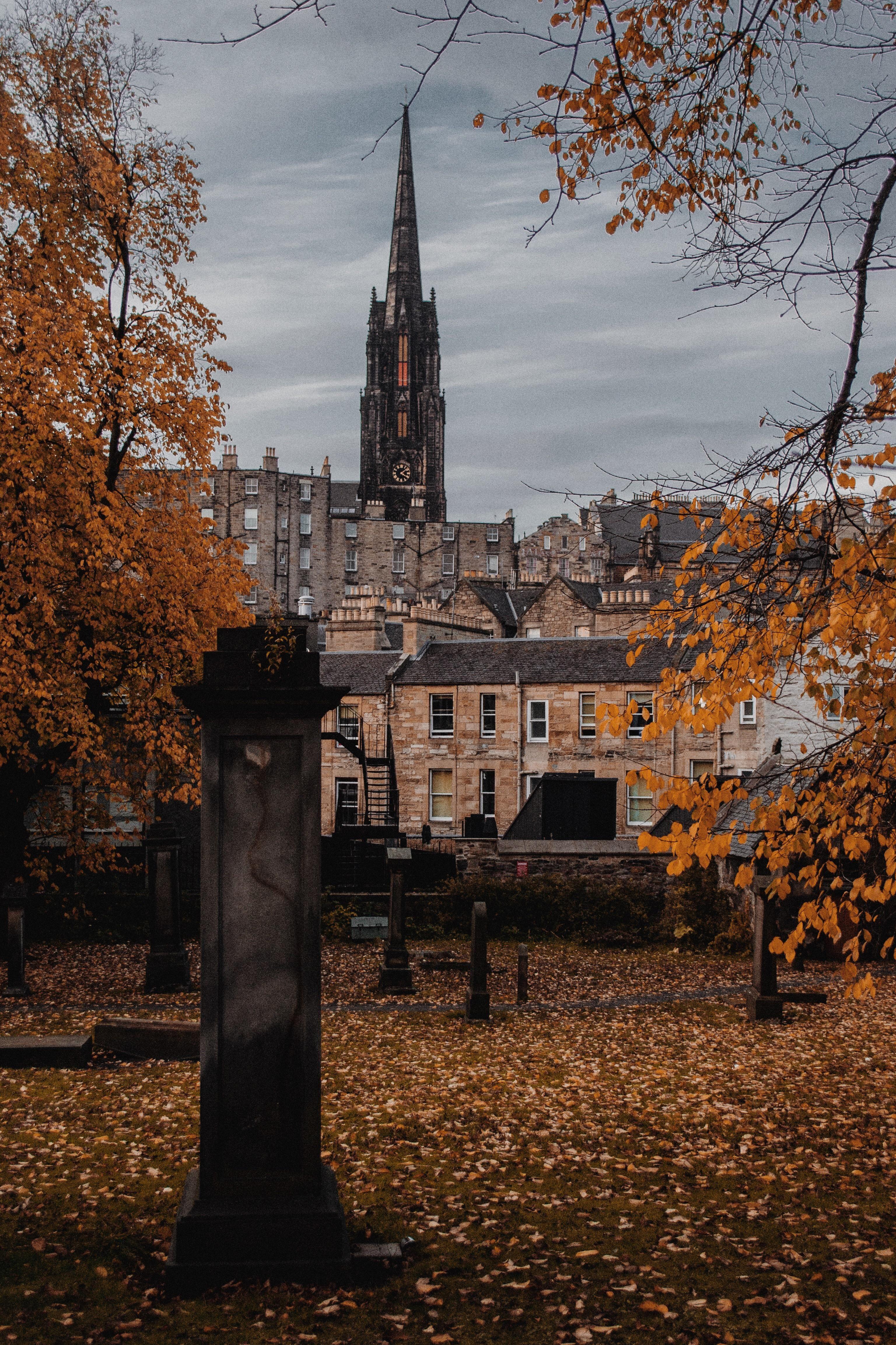 Halloween 2020 Edinburgh In Taken last year on Halloween / Greyfriars Kirkyard Edinburgh in