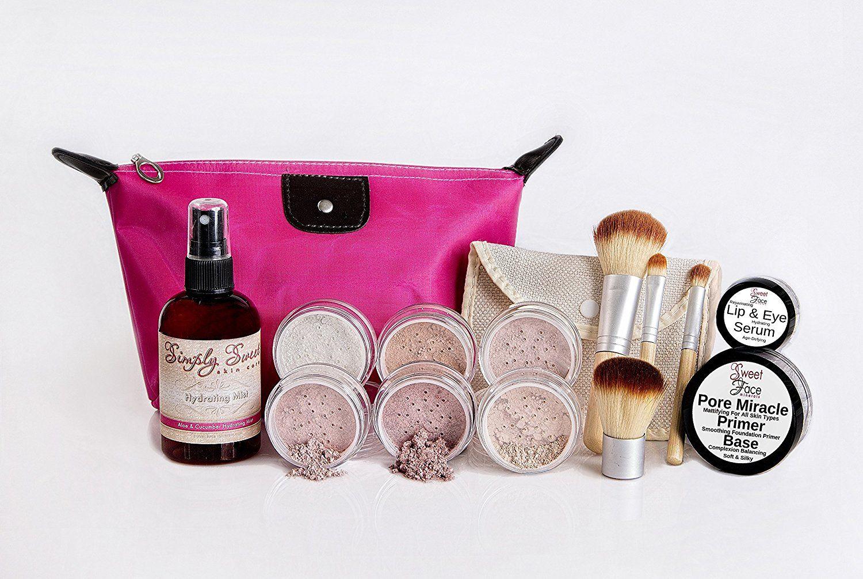 TIMELESS LOOK KIT Full Size Mineral Makeup Set Matte