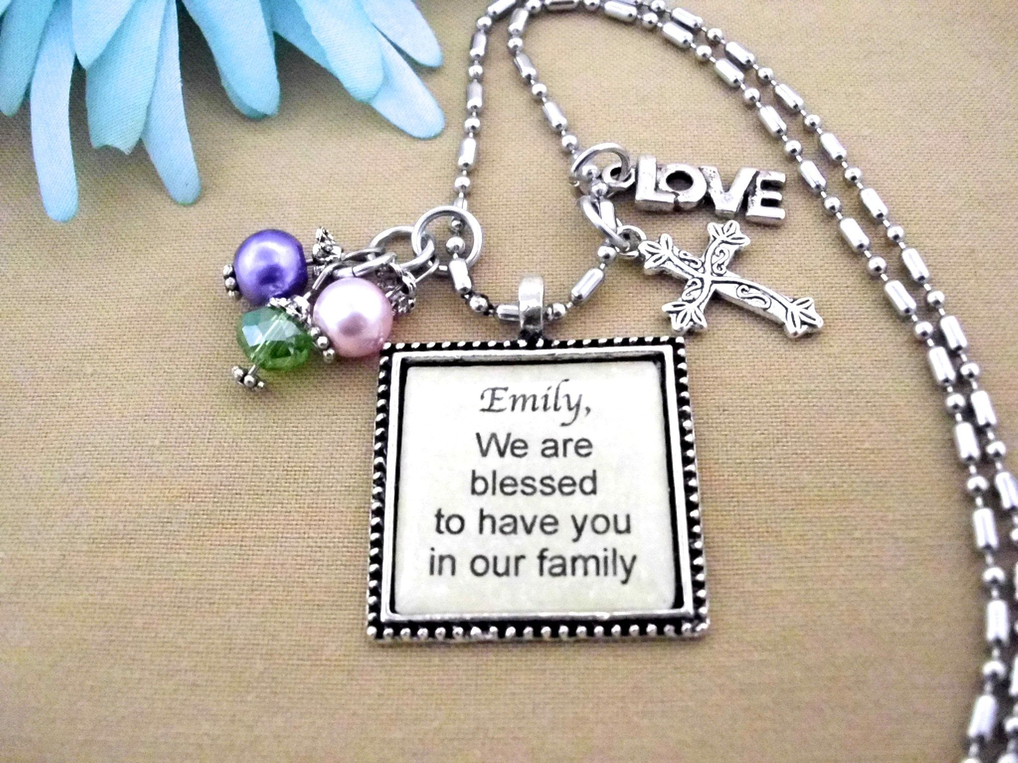 Gift To Bride Gift To Groom Welcome To Our Family Adoption Gift