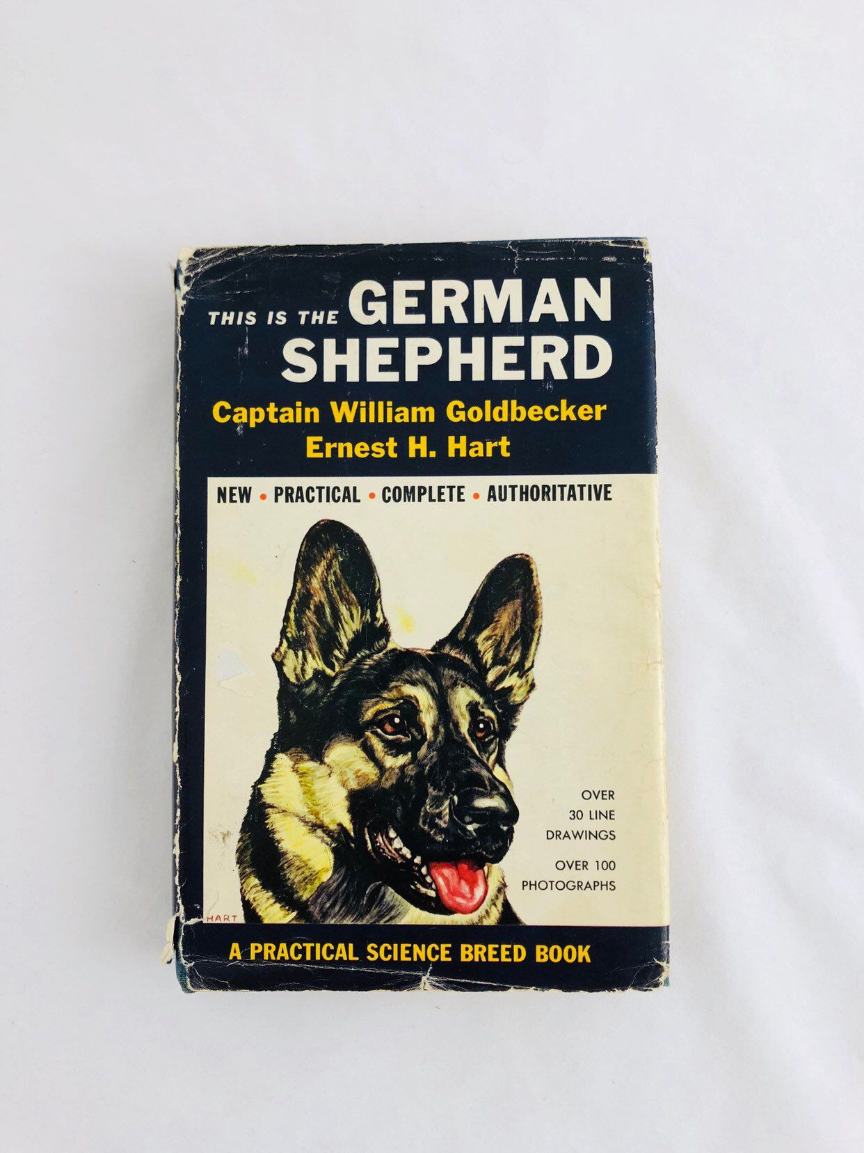 German Shepherd Dog Book 1960s Dogs Training Breeding Puppy