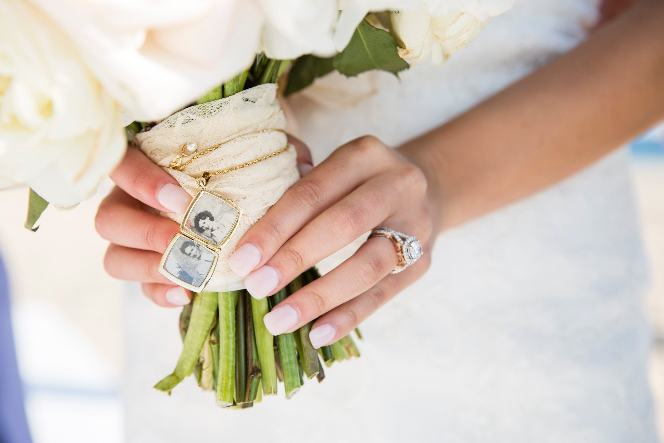 pure lavish events | beach wedding | malibu wedding | sand ceremony | lavender wedding | black and purple wedding | katrina jayne | wedding flowers | art with nature | grandmas locket | remembrance